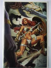 Red Sonja vs. Thulsa Doom #4 Will Conrad Virgin Variant